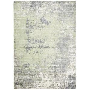 Esposa Vintage-Teppich , Olivgrün , Textil , Abstraktes , rechteckig , 170 cm , Care & Fair , Teppiche & Böden, Teppiche, Vintage-Teppiche