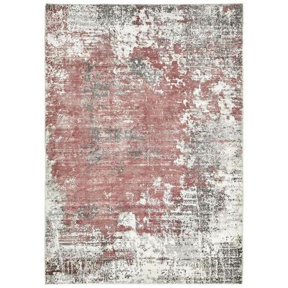 Esposa Vintage-Teppich 90/160 cm Rot , Textil , Abstraktes , 90 cm