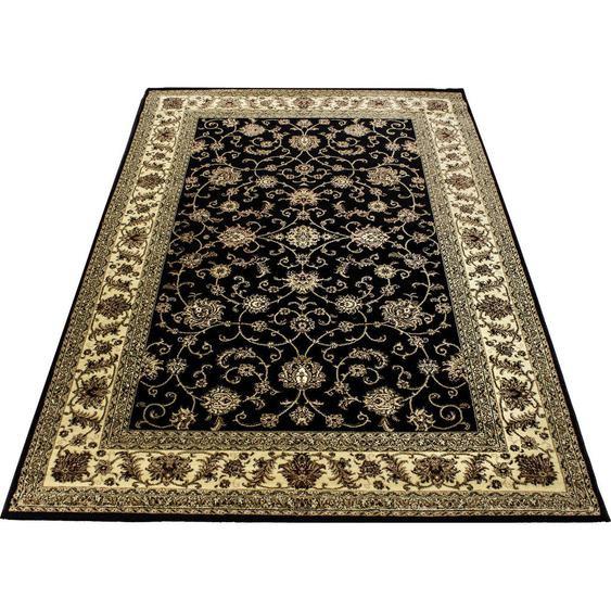 Esposa Webteppich 160/230 cm Schwarz , Textil , orientalisch , 160 cm