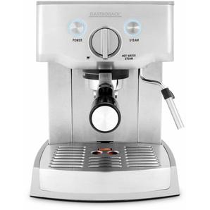 Espressomaschine Design Espresso Pro 42709, silber, Gastroback