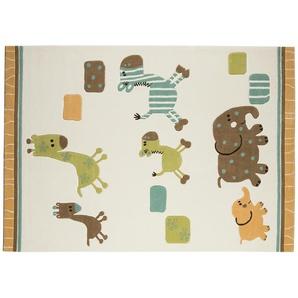 Esprit Handtuft-Teppich  Lucky Zoo ¦ beige ¦ 100 % Acryl ¦ Maße (cm): B: 90 Teppiche  Wohnteppiche » Höffner