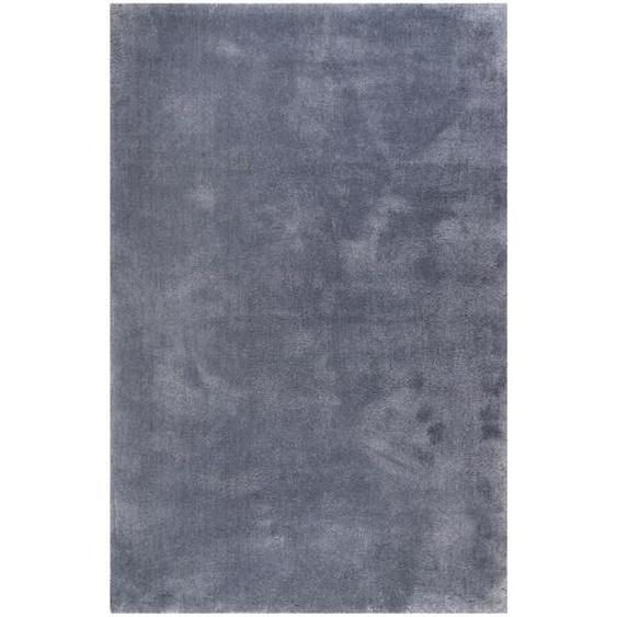 Esprit Hochflorteppich 130/190 cm getuftet Grau , Textil , Uni , 130 cm