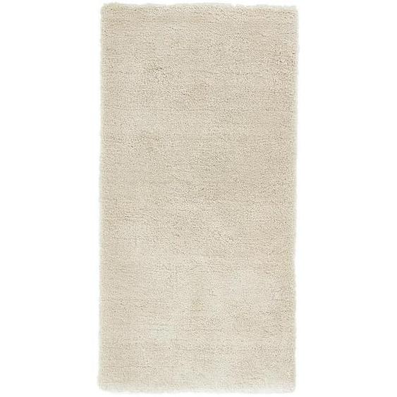 Esprit Hochflorteppich 70/140 cm getuftet Beige , Textil , Streifen , 70x140 cm