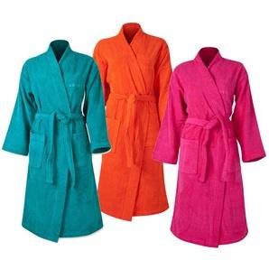Esprit Kimono Unisex Bademantel Pink S