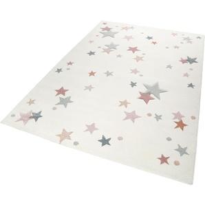Esprit Kinderteppich Jonne, rechteckig, 13 mm Höhe, Sterne in pastell Farben B/L: 120 cm x 170 cm, 1 St. beige Kinder Bunte Kinderteppiche Teppiche
