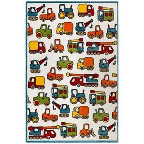 Esprit Kinderteppich Vehicles , Mehrfarbig , Textil , Fahrzeuge , rechteckig , 120 cm , Textiles Vertrauen - Oeko-Tex®, Hohenstein, Oeko-Tex® Standard 100 , für Fußbodenheizung geeignet, in verschiedenen Größen erhältlich, Hausstauballergiker geeignet ,