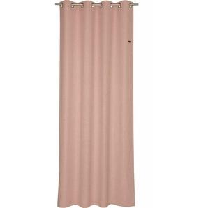 Esprit Ösenschal Ösenvorhang Harp Rosa 140x250cm