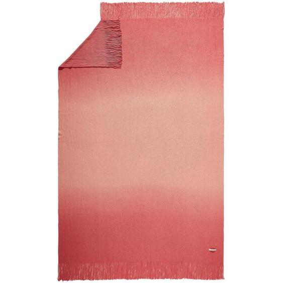 Esprit Plaid 140/200 cm Orange , Textil , Uni , 140 cm