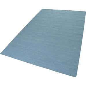 Esprit Teppich Rainbow Kelim, rechteckig, 5 mm Höhe, Flachgewebe, Wohnzimmer B/L: 80 cm x 150 cm, 1 St. grün Kelim-Teppiche Orientteppich Teppiche