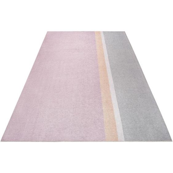 Esprit Teppich Salt River, rechteckig, 6 mm Höhe, weicher Kurzflor, Wohnzimmer 6, 190x290 cm, rosa Kinder Bunte Kinderteppiche Teppiche