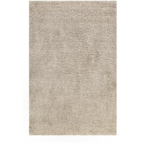 Esprit Webteppich 120/170 cm Beige, Beige , Sand, Beige , Textil , Uni , 120 cm
