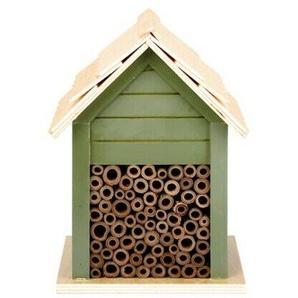 Esschert Design Bienenhaus 21,2 X 15,7 Cm Holz/bambus Grün