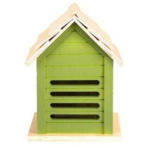 Esschert Design Marienkäferhaus 21,2 Cm Holz Hellgrün