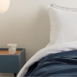 Essentials Brosse Tagesdecke (150 x 200 cm) aus 100 % Baumwolle, Aegaeisblau
