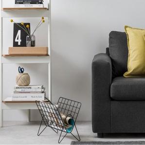 Essentials Elvin 2 x Kissen (45 x 45 cm), Chartreuse