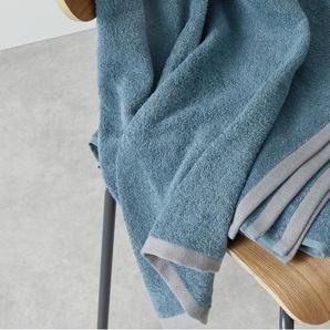 Essentials Zyra 4 x Handtuecher, Schieferblau
