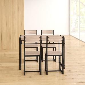 Essgruppe Michelle mit 4 Stühlen