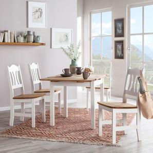 essgruppen in weiss preise qualit t vergleichen m bel 24. Black Bedroom Furniture Sets. Home Design Ideas