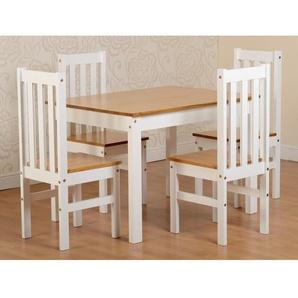 Essgruppe Bradmoor mit 4 Stühlen