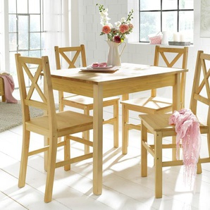 Home affaire Essgruppe, beige, 100/70cm, FSC®-zertifiziert