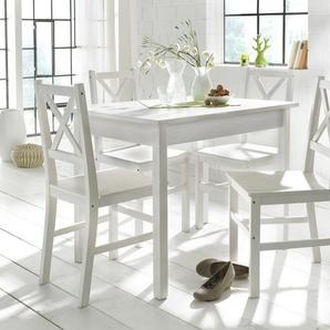 Home affaire Essgruppe weiß, 140/80cm, FSC®-zertifiziert