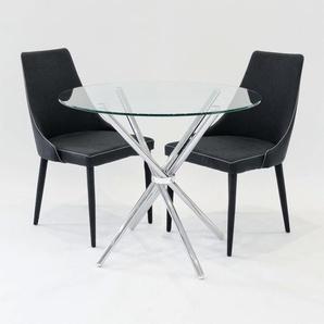 Essgruppe Brookhn mit 2 Stühlen