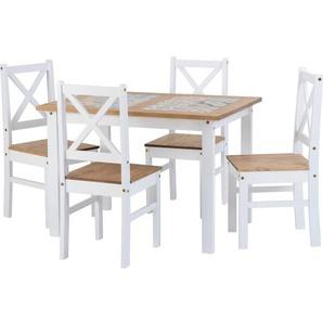 Essgruppe Cockerham mit 4 Stühlen