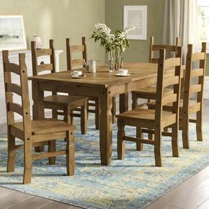 Essgruppe Montpelier mit 6 Stühlen