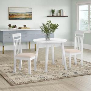 Essgruppe Inglewood mit ausziehbarem Tisch und 2 Stühlen