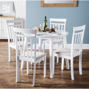 Essgruppe Inglewood mit ausziehbarem Tisch und 4 Stühlen