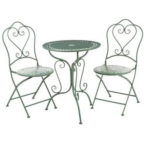 Essgruppe Jeremiah mit 2 Stühlen