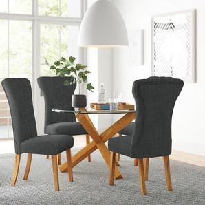 Essgruppe Oporto mit 4 Stühlen