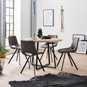 Home affaire Essgruppe, mit 4 Stühle