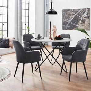 INOSIGN Essgruppe, mit 4 Stühle