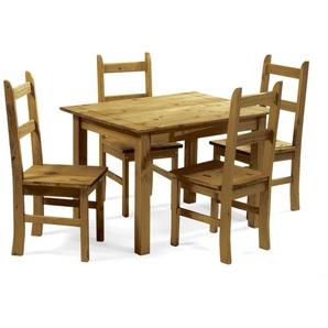 Essgruppe Peru mit 4 Stühlen