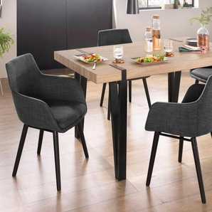 Home affaire Essgruppe »Sanchez und Bradford«, (Set, 5-tlg), mit Tisch, Breite 150 cm