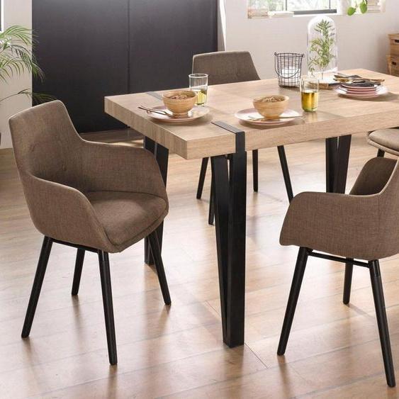 Essgruppe »Sanchez und Bradford«, (Set, 5-St), mit Tisch, Breite 150 cm