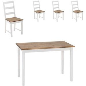 Essgruppe Wien (70x115, 4 Stühle)