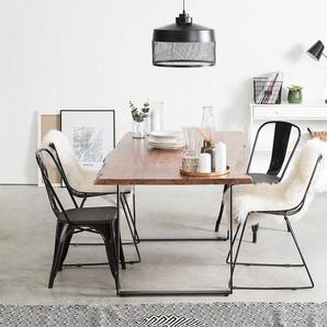 Esstisch Holz braun 180 x 90 cm JAIPUR