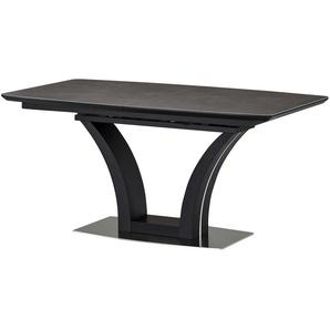 Esstisch  Dyke ¦ schwarz ¦ Maße (cm): B: 90 H: 76 Tische  Esstische  Esstische eckig » Höffner