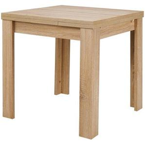 Esstisch  FleX ¦ holzfarben ¦ Maße (cm): B: 80 H: 78 Tische  Esstische  Esstische ausziehbar » Höffner