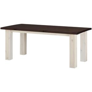 Esstisch  Bornholm ¦ weiß ¦ Maße (cm): B: 90 H: 74 Tische  Esstische  Esstische massiv » Höffner