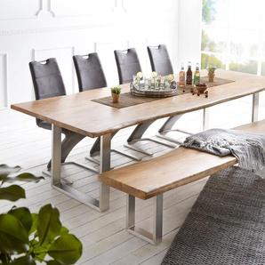 Wohnlandschaft Clovis Weiss Hellgrau Modulsofa Armlehne, Design Wohnlandschaften, Couch Loft, Modulsofa, modular