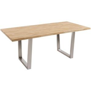 Esstisch, Eiche, Holz