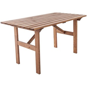 Esstisch Erwon aus Massivholz