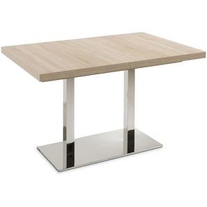 Esstisch mit Auszug, Eiche Sonoma, Kunststoff