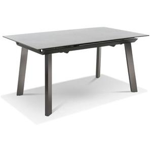 Esstisch mit Auszug Esstisch mit Auszug, Grau, Keramik