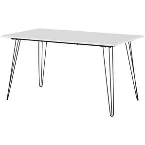 Esstisch  Sebastian ¦ weiß ¦ Maße (cm): B: 80 H: 75 Tische  Esstische  Esstische andere Formen » Höffner