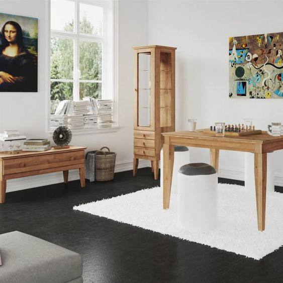 Esstisch Tisch LENNES Buche massiv 110x80 cm