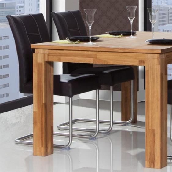 Esstisch Tisch MAISON Eiche massiv 170x80 cm